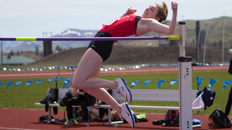 Sprauer 2nd after Day 1 of CCC Multi-Events Championships - Southern Oregon University Athletics